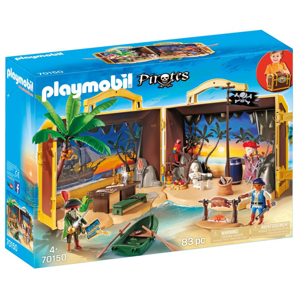 PLAYMOBIL Pirates meeneem pirateneiland 70150