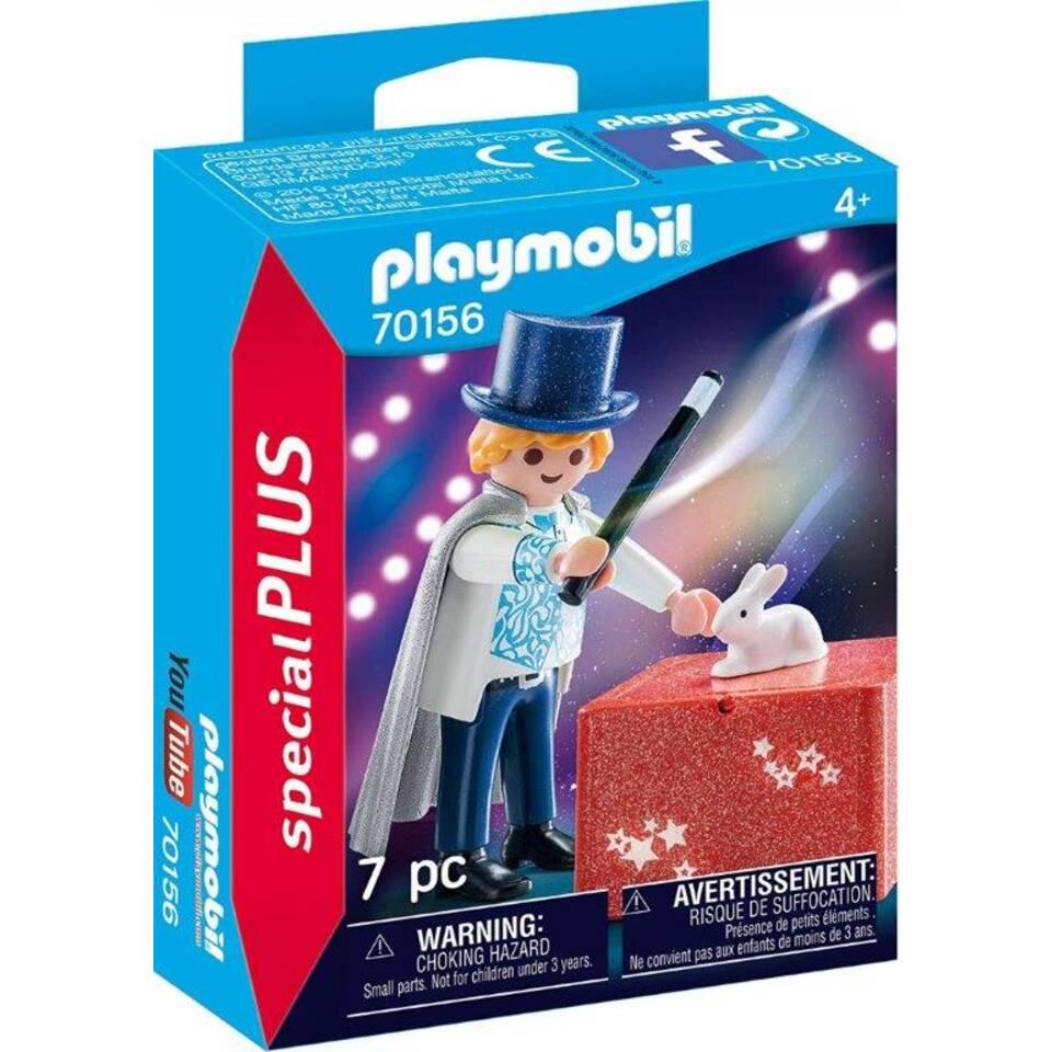 PLAYMOBIL SpecialPLUS goochelaar 70156