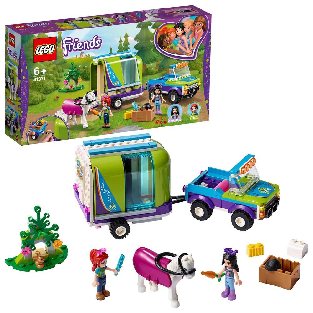 LEGO Friends Mia's paardentrailer 41371