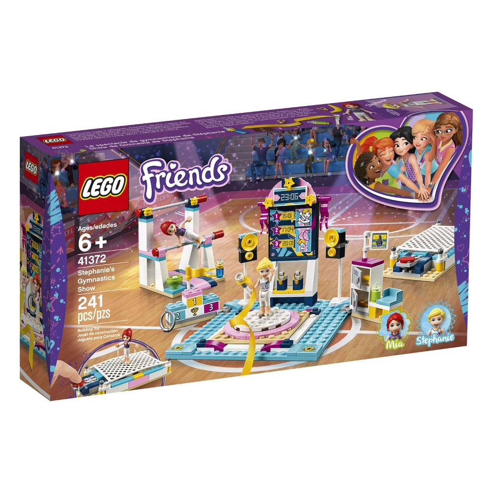 LEGO Friends Stephanie's turnshow 41372