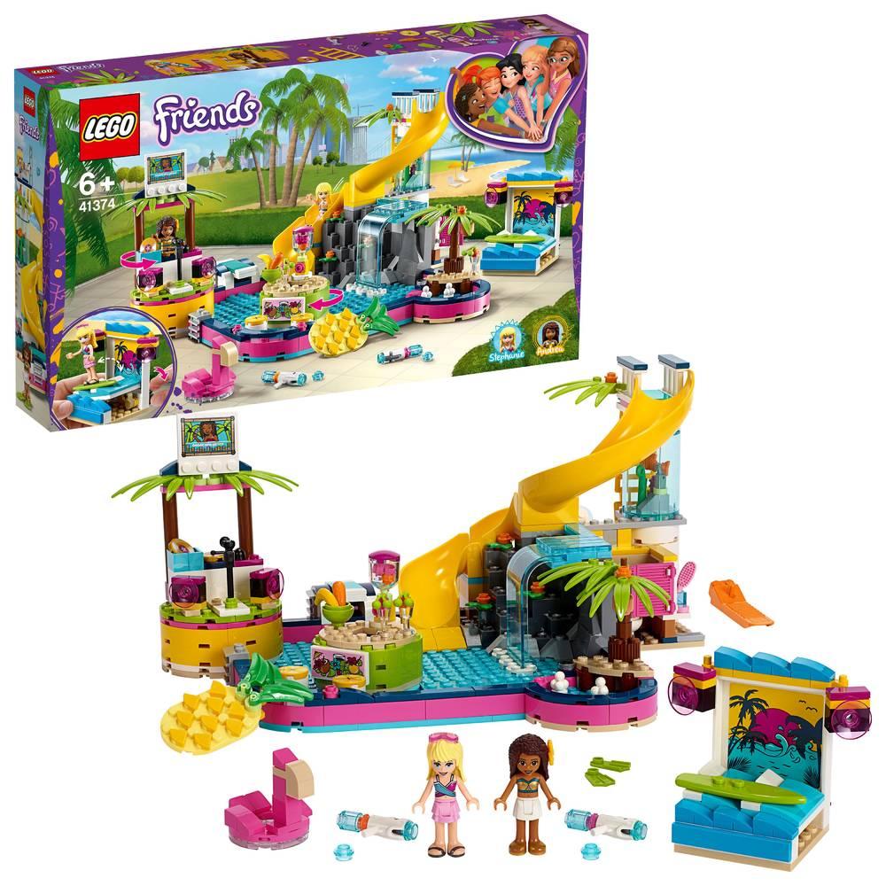 LEGO Friends Andrea's zwembadfeest 41374