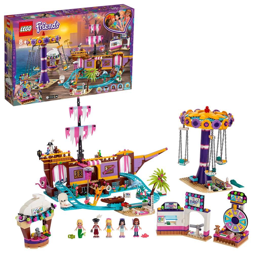 LEGO Friends pier met kermisattracties 41375