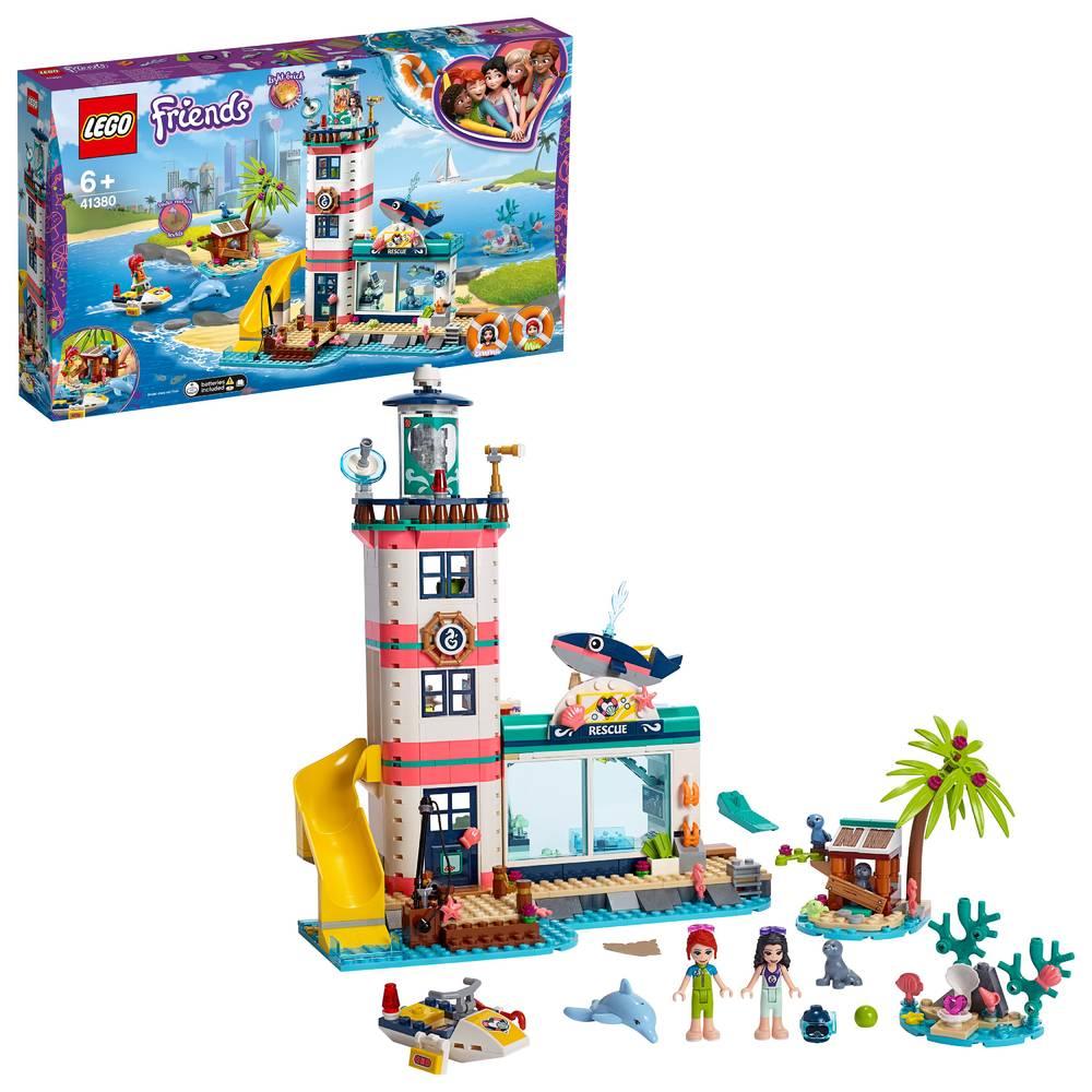 LEGO Friends reddingscentrum in de vuurtoren 41380