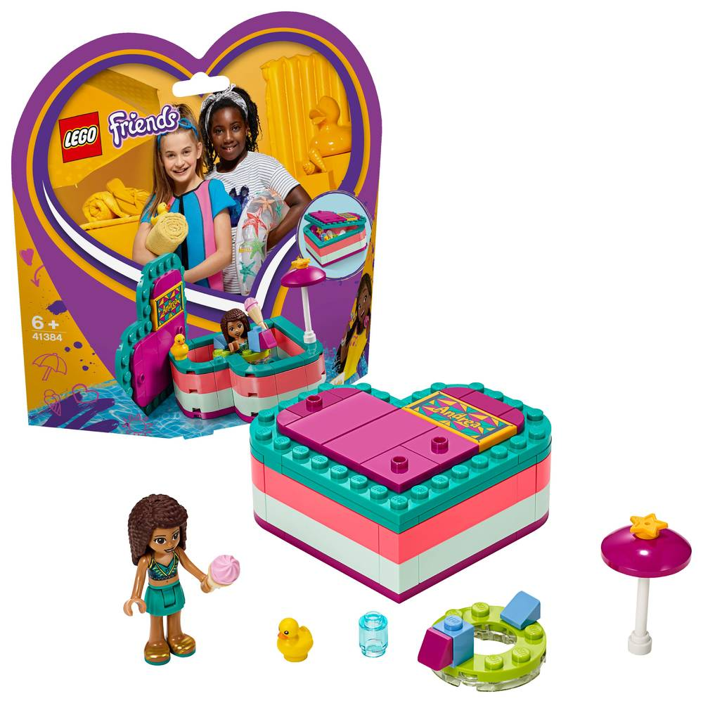 LEGO Friends Andrea's hartvormige zomerdoos 41384