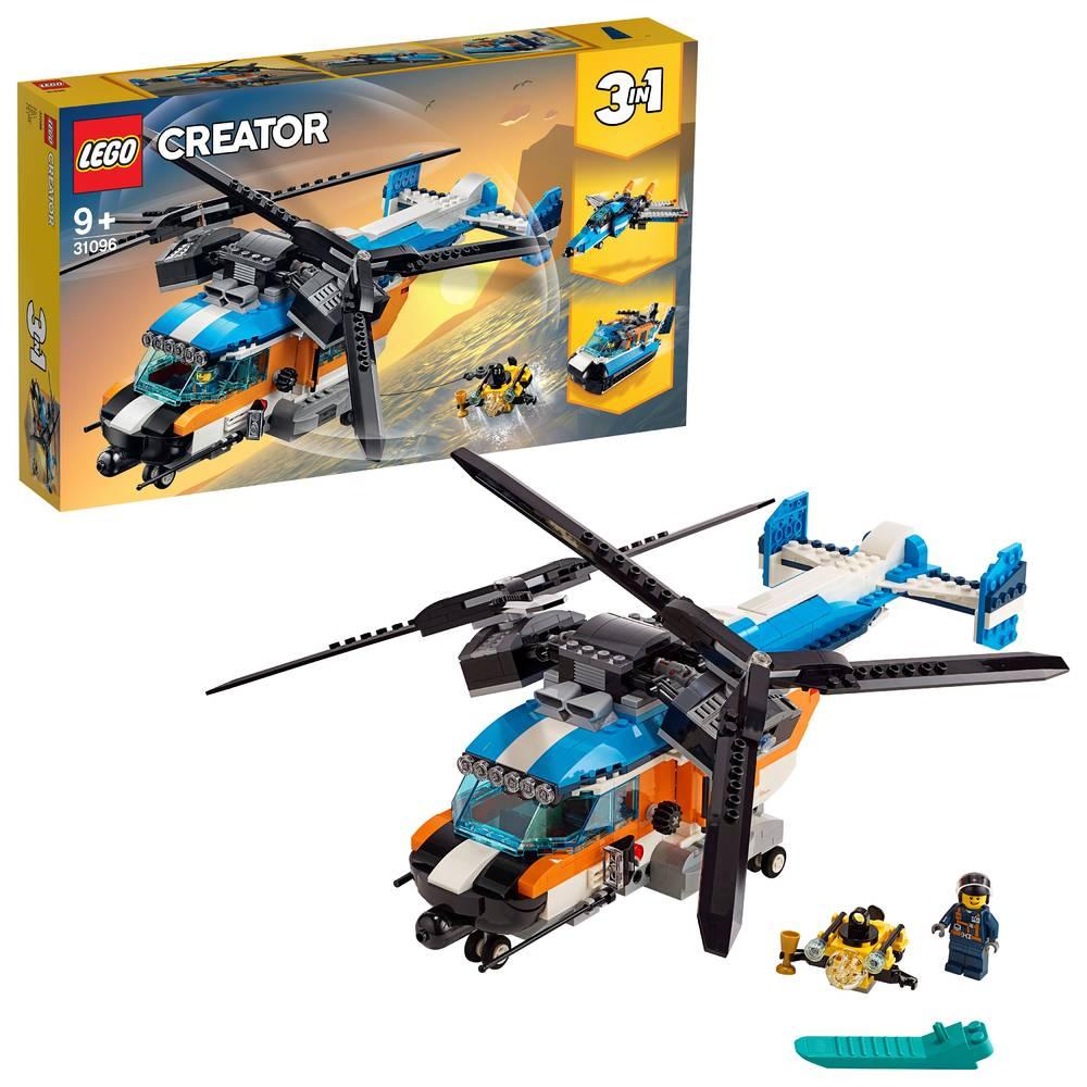 LEGO Creator dubbel-rotor helikopter 31096