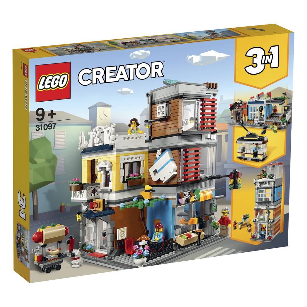 LEGO Creator woonhuis met dierenwinkel & café 31097