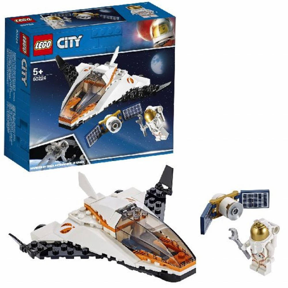 LEGO City satelliettransportmissie 60224