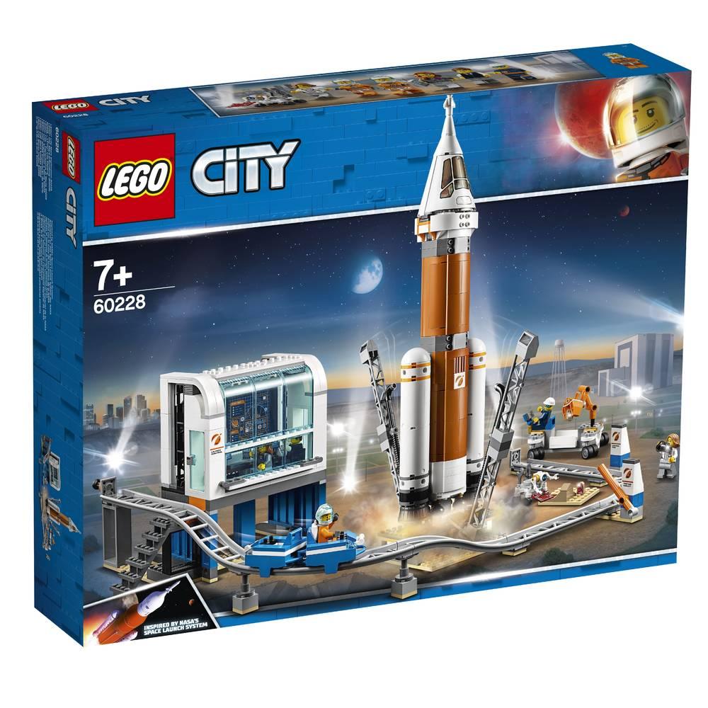 LEGO City ruimteraket en vluchtleiding 60228