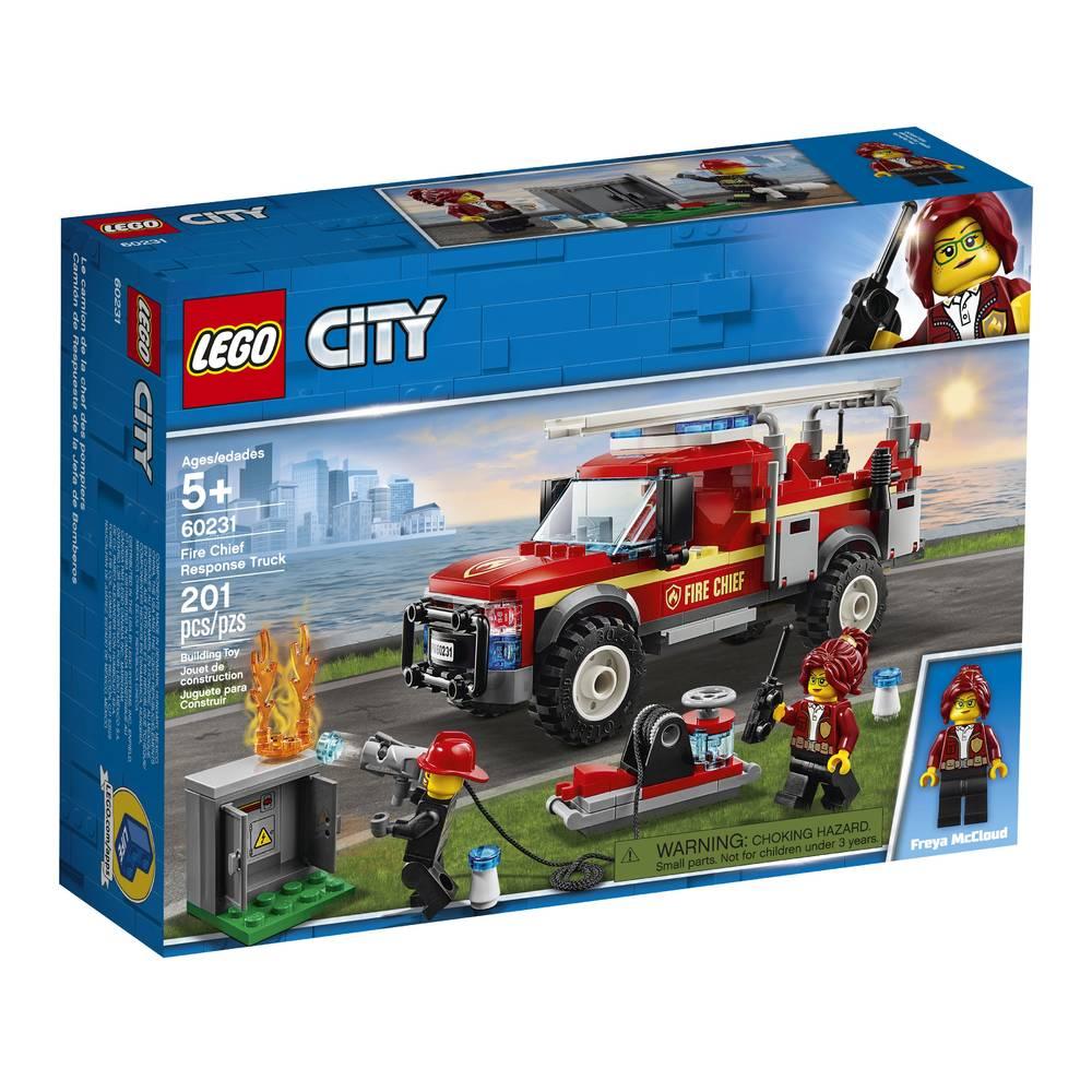 LEGO City reddingswagen van brandweercommadant 60231