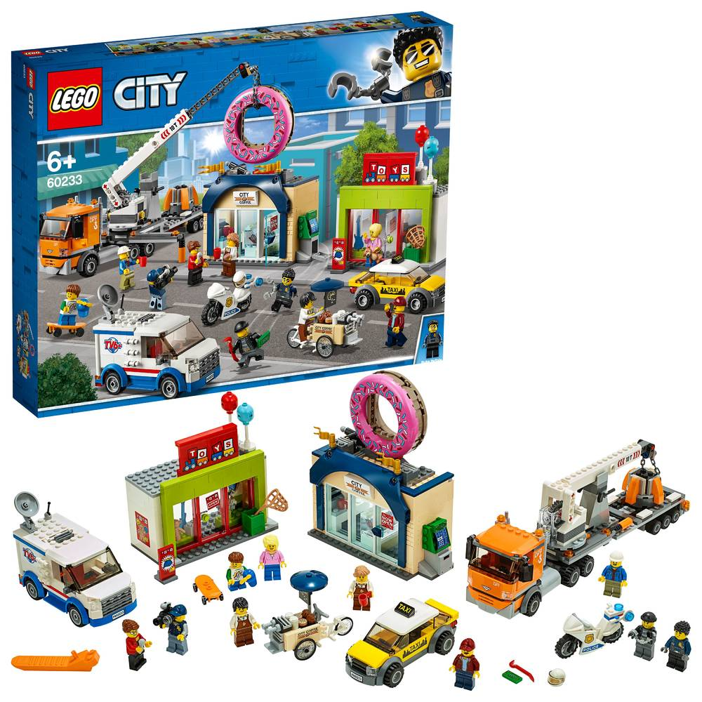 LEGO City opening donutwinkel 60233