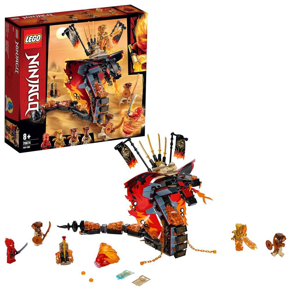 LEGO Ninjago Vuurtand 70674