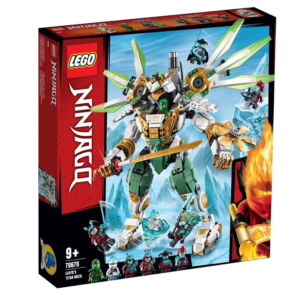 LEGO Ninjago titanium mecha van Lloyd 70676