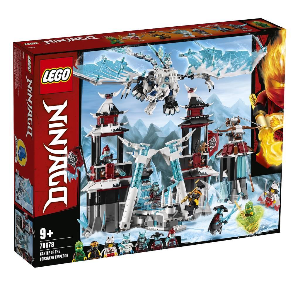 LEGO Ninjago kasteel van de verlaten keizer 70678