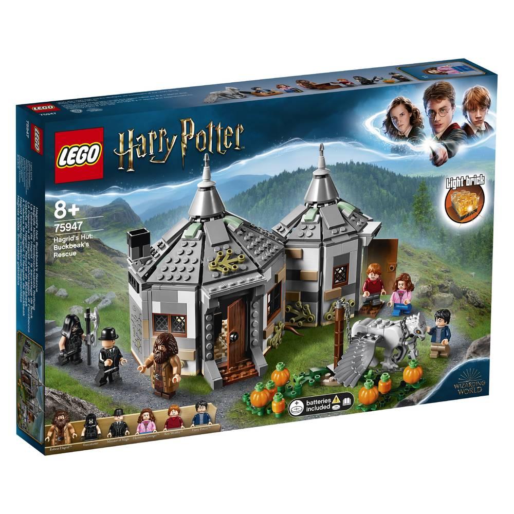 LEGO Harry Potter Hagrid's huisje: Scheurbeks ontsnapping 75947