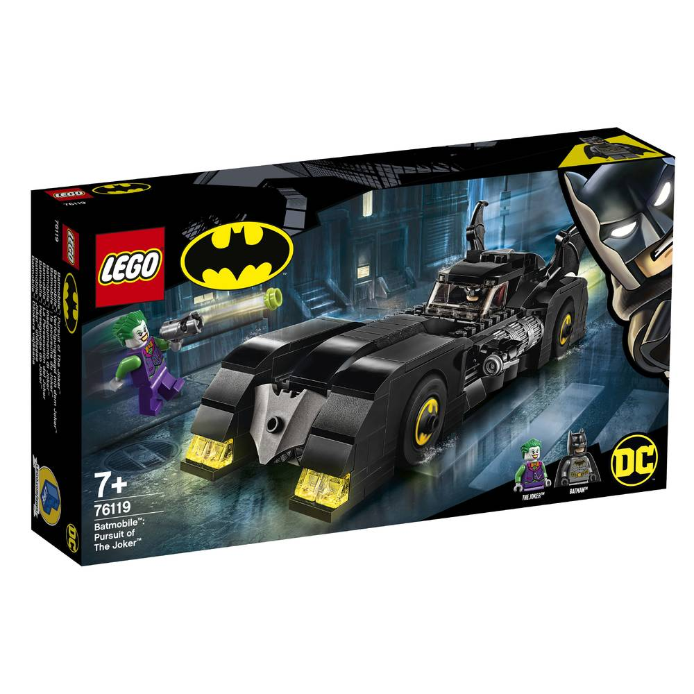 LEGO Super Heroes Batmobile de jacht op The Joker 76119