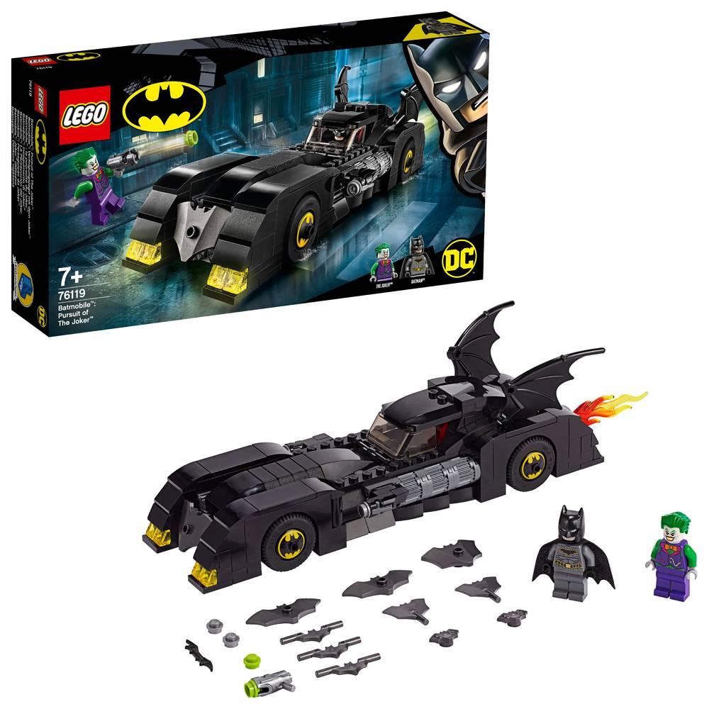 LEGO Super Heroes Batmobile de jacht op The Joker 76119