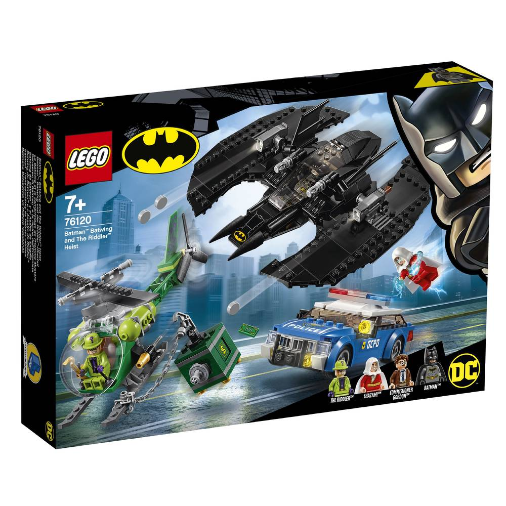 LEGO Super Heroes Batman Batwing en de overval van The Riddler 76120