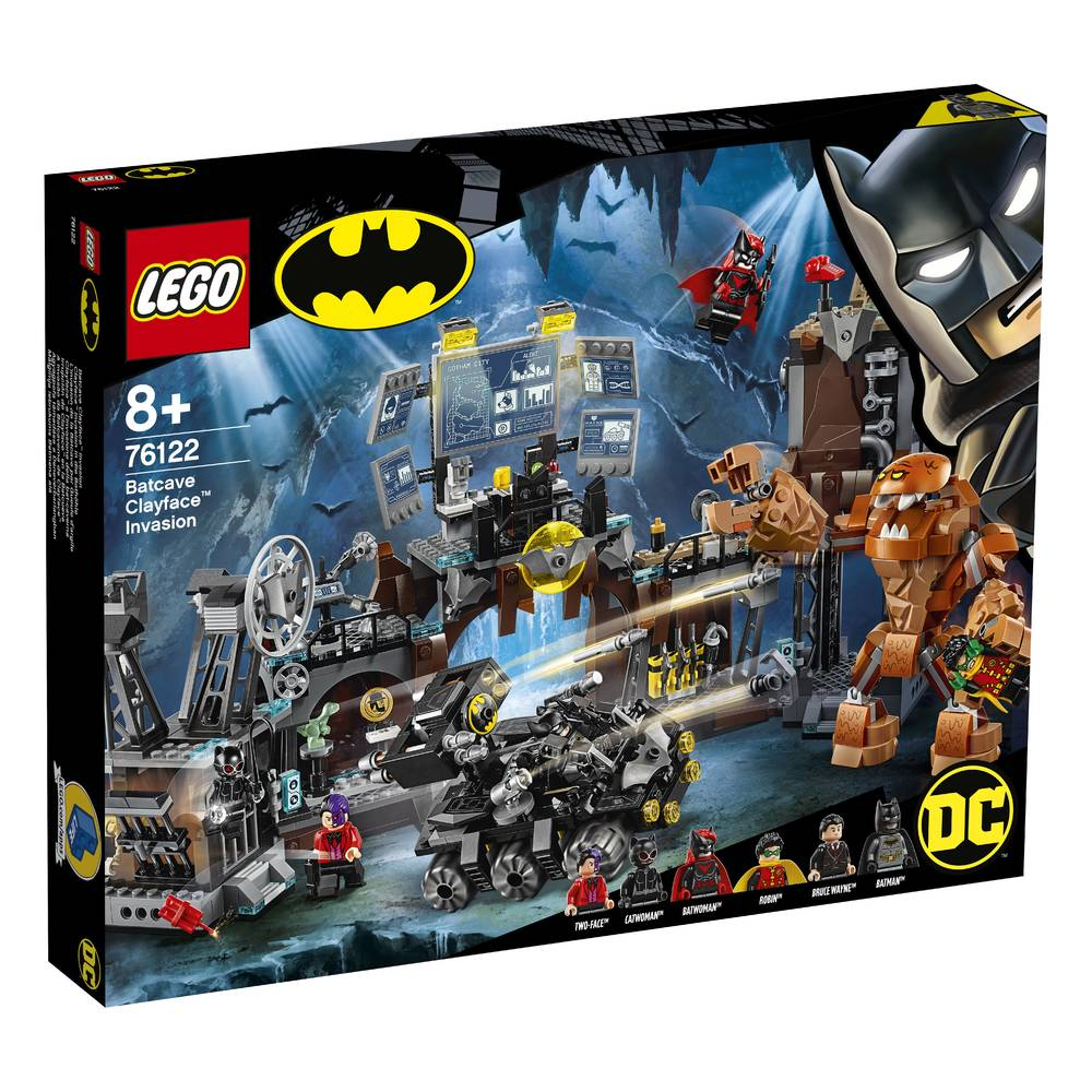 LEGO Super Heroes Batcave invasie Clayface 76122