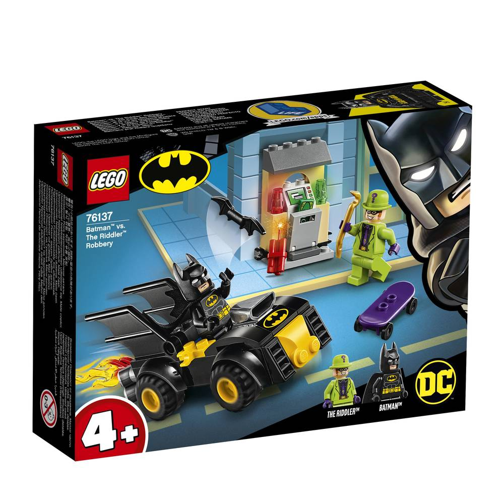 LEGO Super Heroes Batman vs de roof van The Riddler 76137