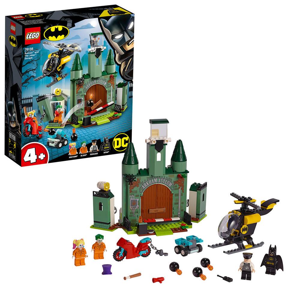 LEGO Super Heroes Batman en de ontsnapping van The Joker 76138