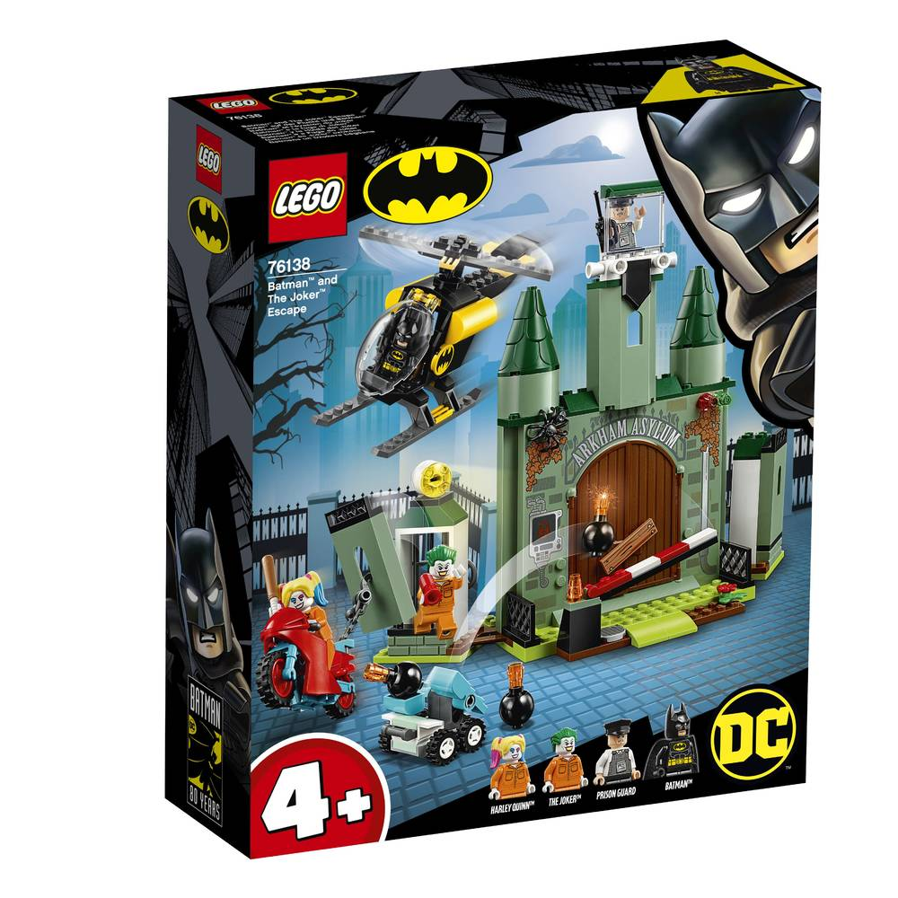 LEGO Super Heroes Batman en de ontsnapping van The Joker 76138