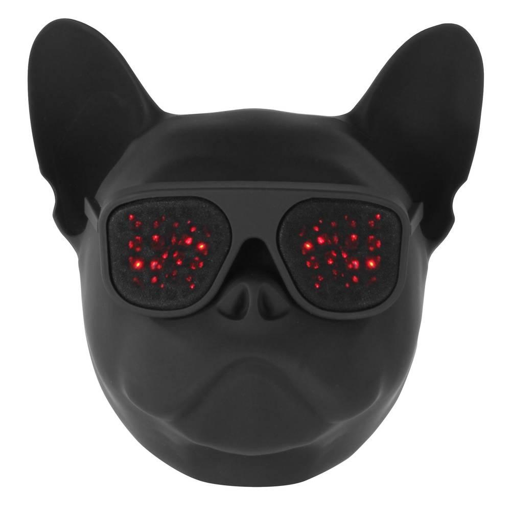 Wonky Monkey Bulldog draadloze speaker - zwart