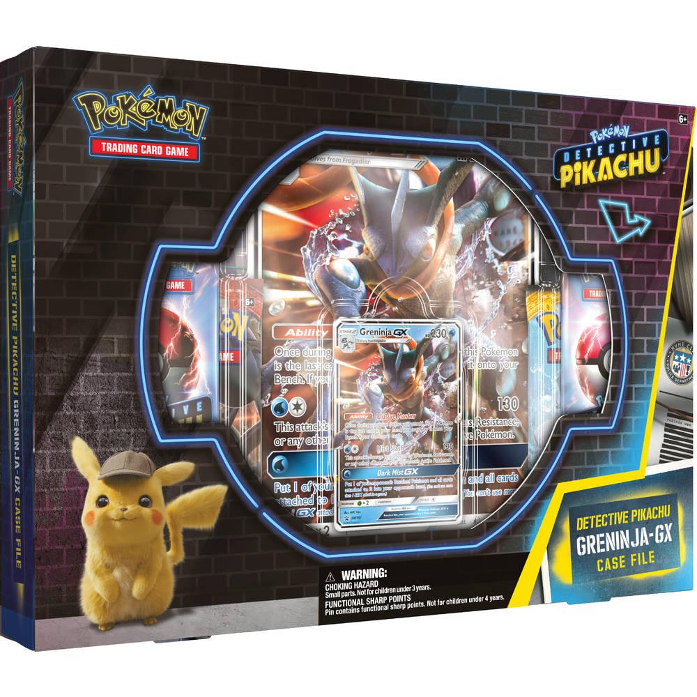 Pokémon Detective Pikachu GX pin box Greninja