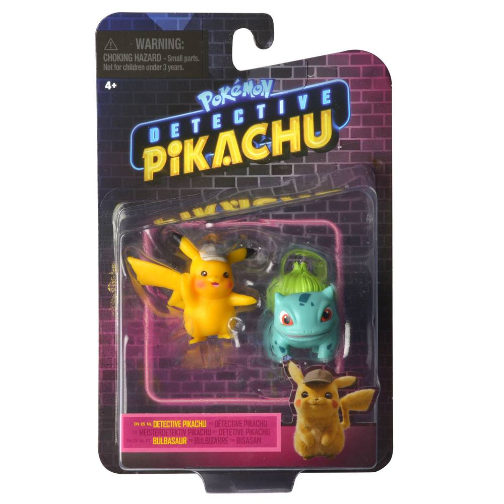 Pokémon Detective Pikachu battle speelfiguren set