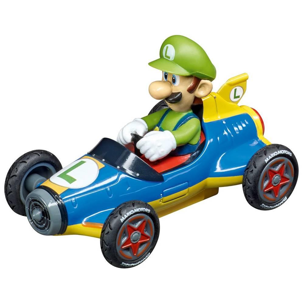 Pull & Speed Pull Back auto Mario Mach 8 Luigi