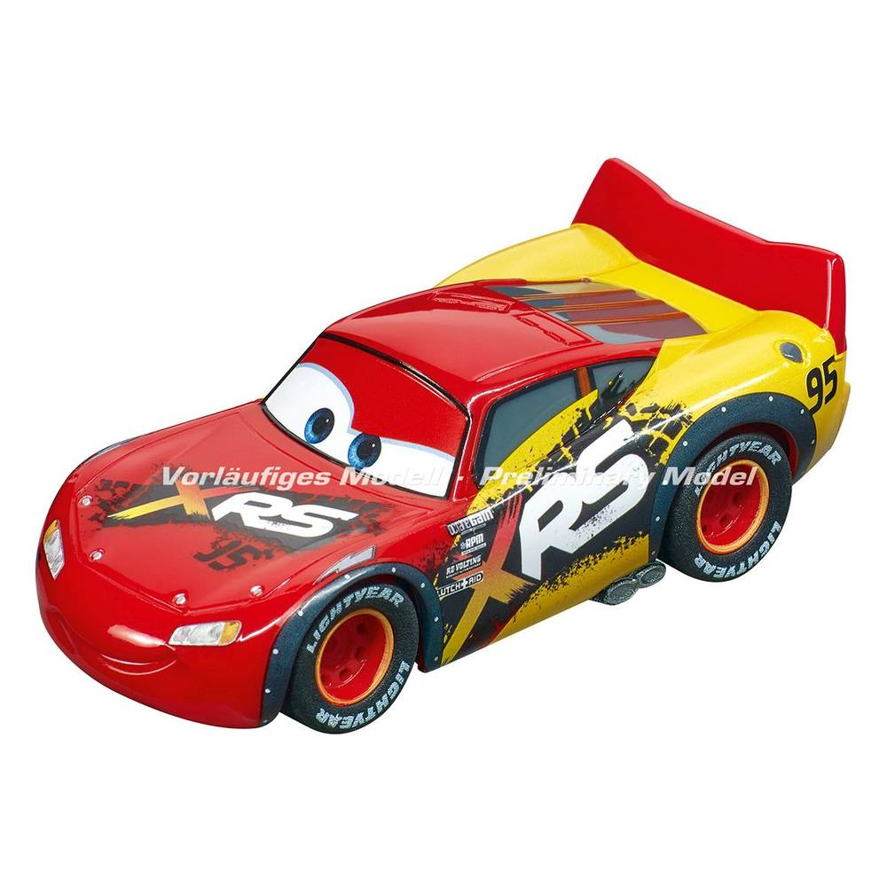 Disney Cars Pull & Speed Pull Back auto Bliksem McQueen modderracer