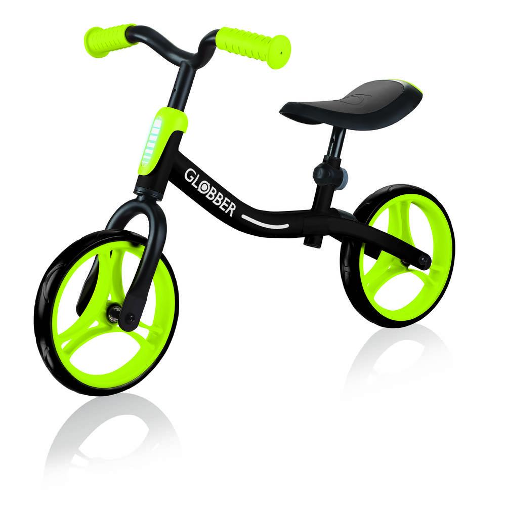 Globber Go Bike loopfiets - zwart/groen