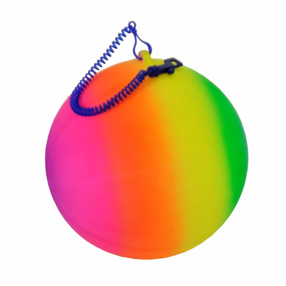 Gekleurde bal met sleutelhangerclip