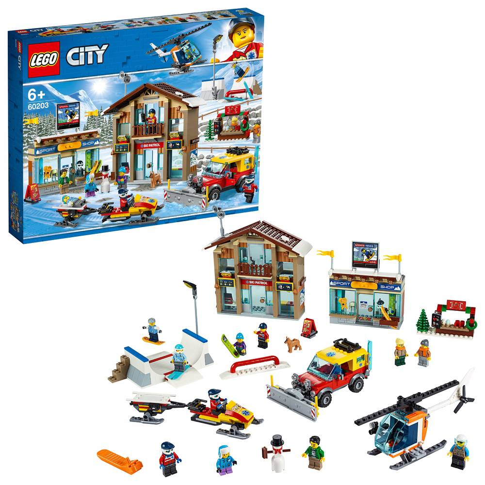 LEGO City skiresort 60203