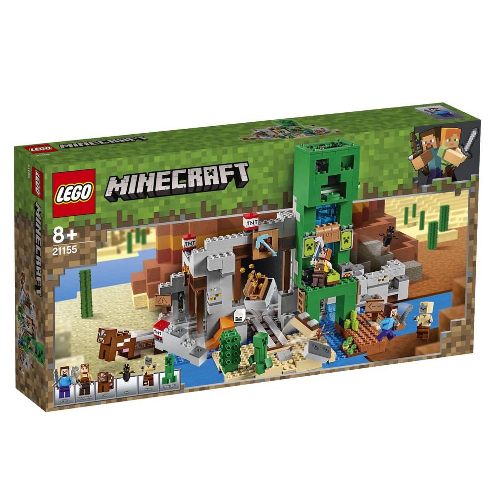 LEGO Minecraft de Creeper mijn 21155