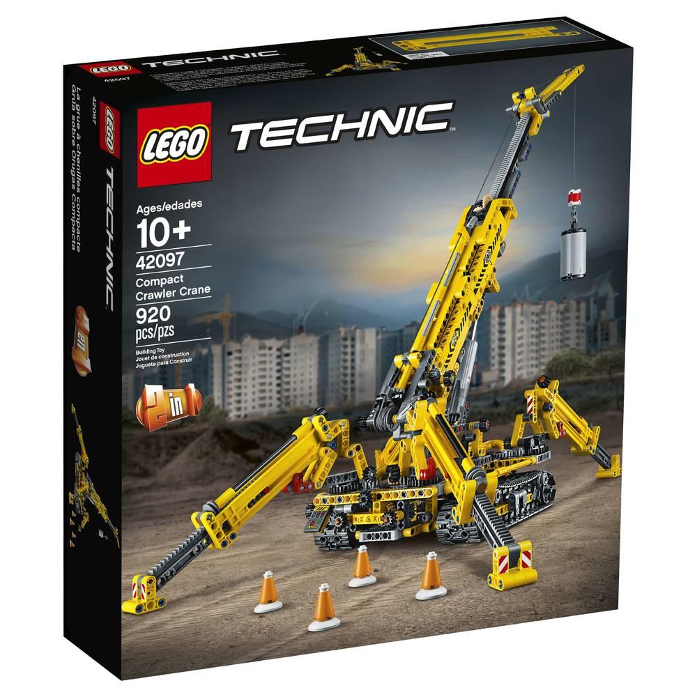 LEGO Technic compacte rupsband kraan 42097