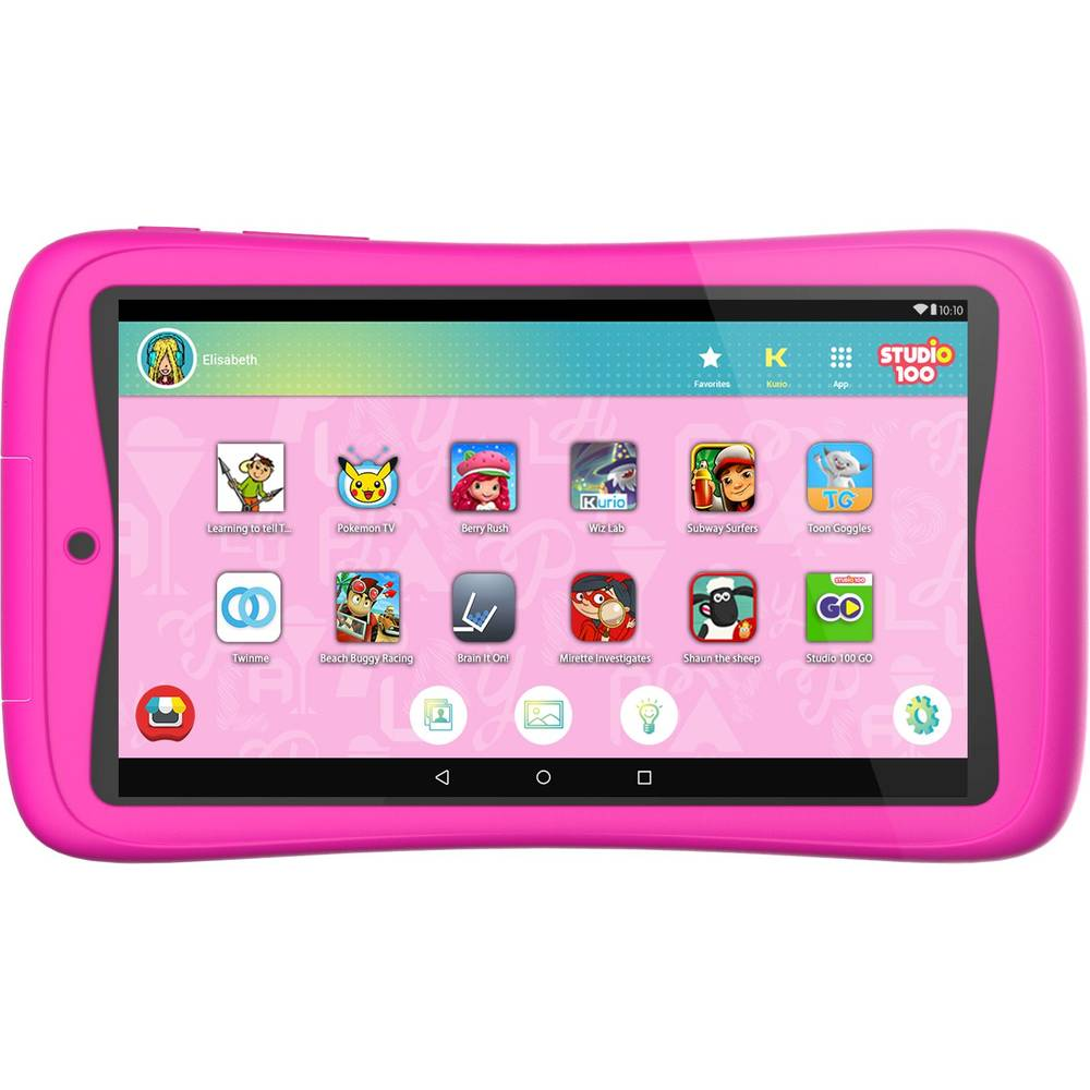 Kurio Tab Connect Studio 100 tablet - 7 inch - roze