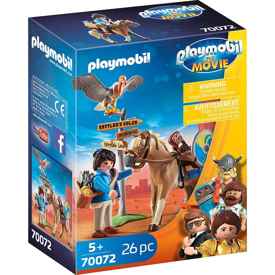 PLAYMOBIL THE MOVIE Marla met paard 70072