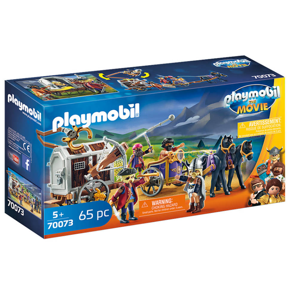 PLAYMOBIL THE MOVIE Charlie met gevangeniswagon 70073