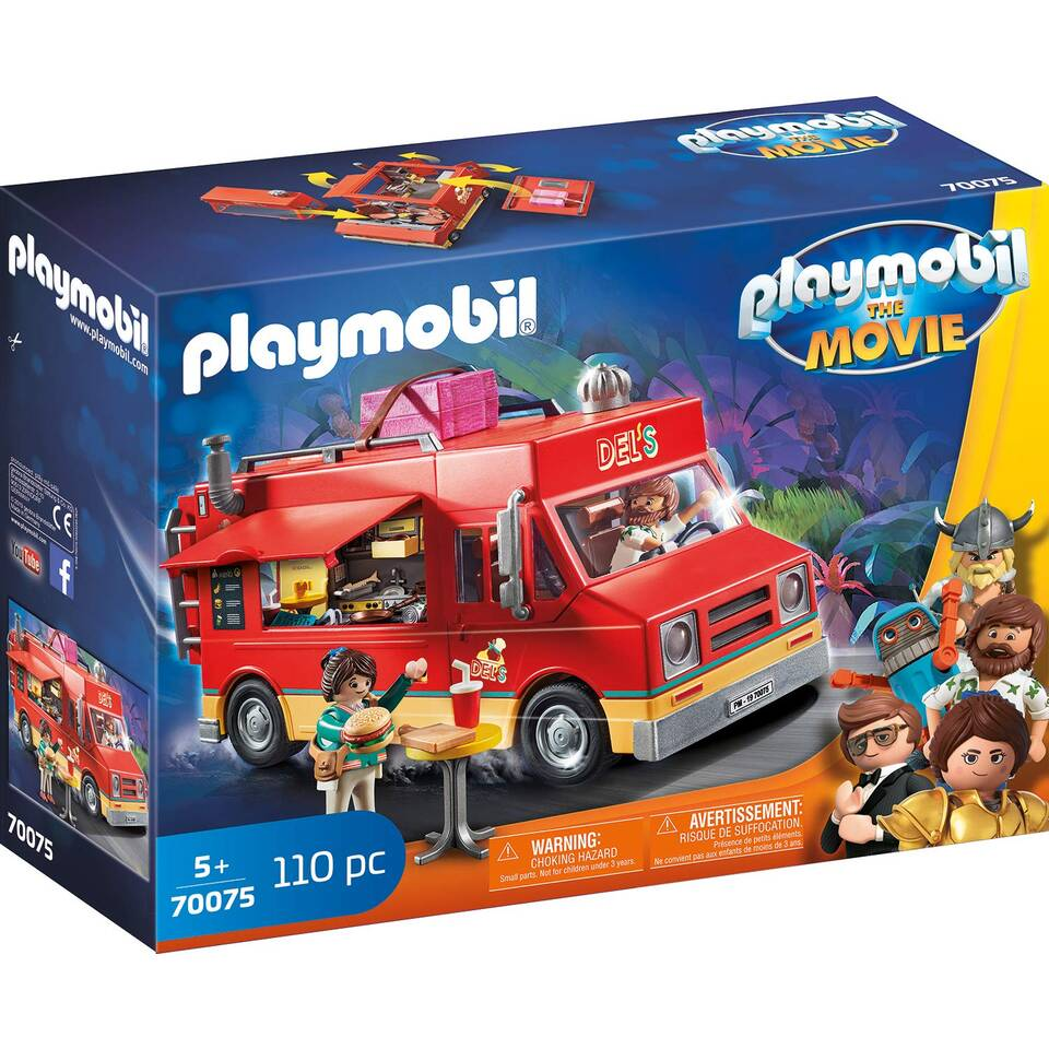 PLAYMOBIL THE MOVIE Dels food truck 70075