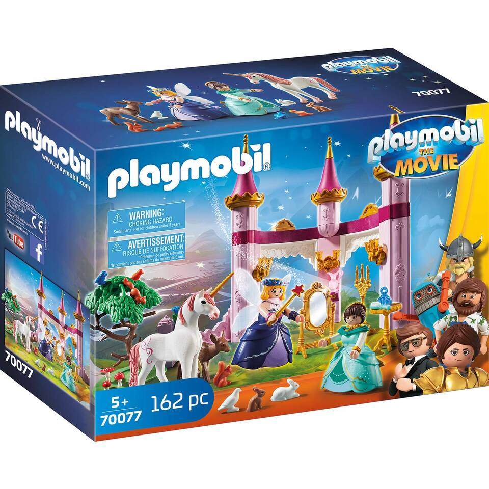 PLAYMOBIL THE MOVIE Marla in het sprookjeskasteel 70077