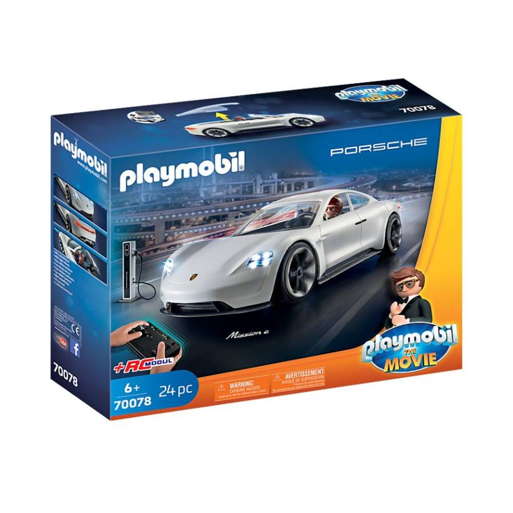 PLAYMOBIL THE MOVIE Rex Dashers Porsche Mission E 70078