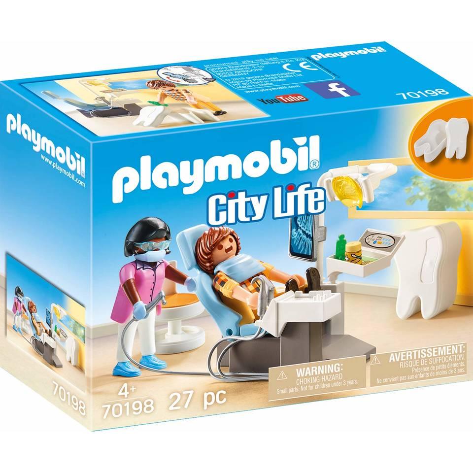 PLAYMOBIL City Life tandartspraktijk 70198