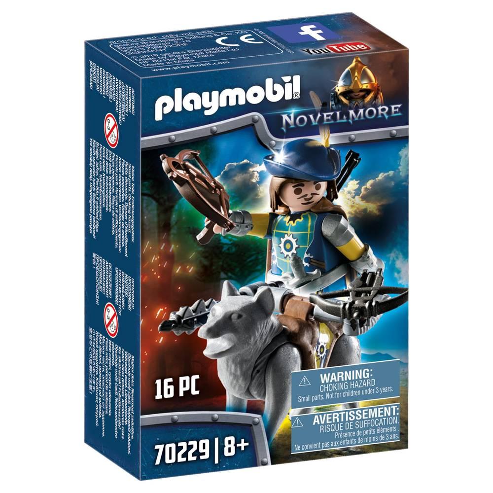 PLAYMOBIL Novelmore boogschutter met wolf 70229