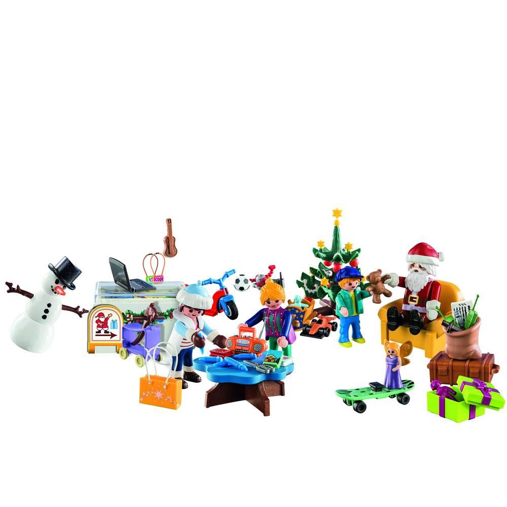PLAYMOBIL Christmas speelgoedwinkel adventskalender 70188