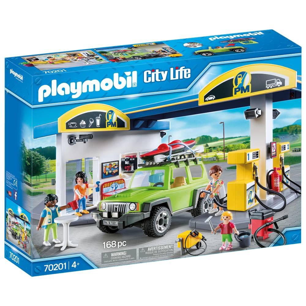 PLAYMOBIL City Life tankstation 70201