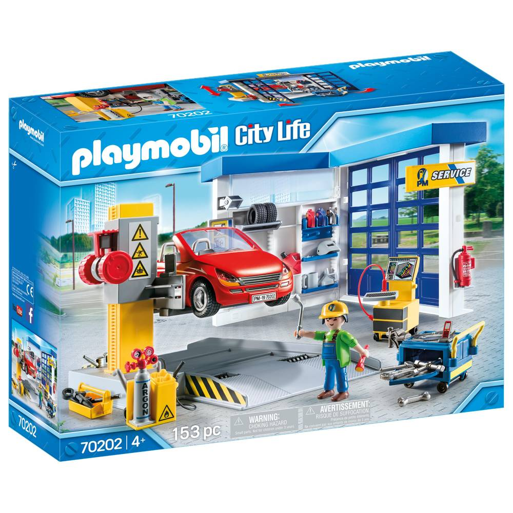 PLAYMOBIL City Life autogarage 70202