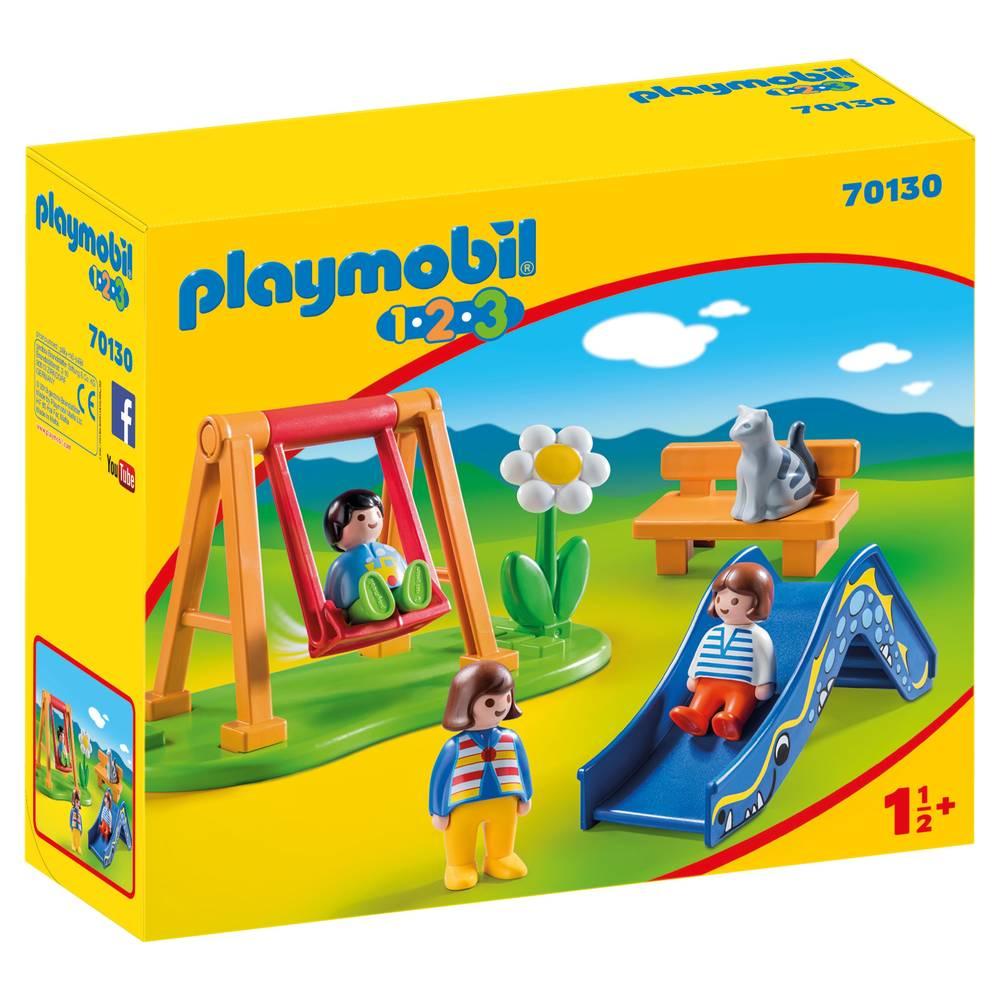 PLAYMOBIL 1.2.3 speeltuintje 70130