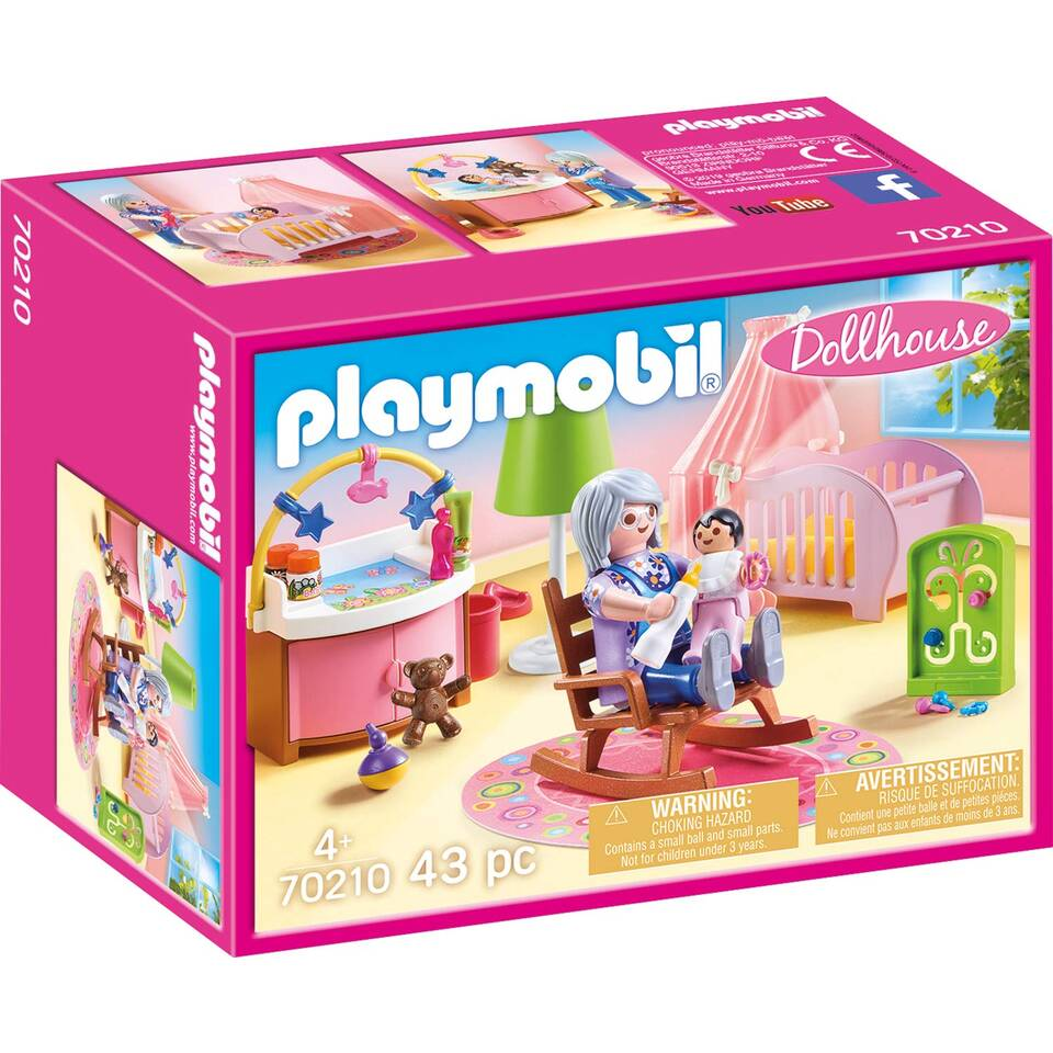 PLAYMOBIL Dollhouse babykamer 70210