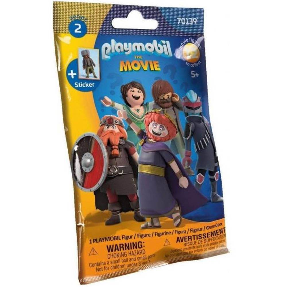PLAYMOBIL The Movie Figures Serie 2 bouwfiguur 70139