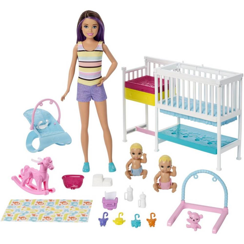 Barbie Skipper kinderkamerspeelset